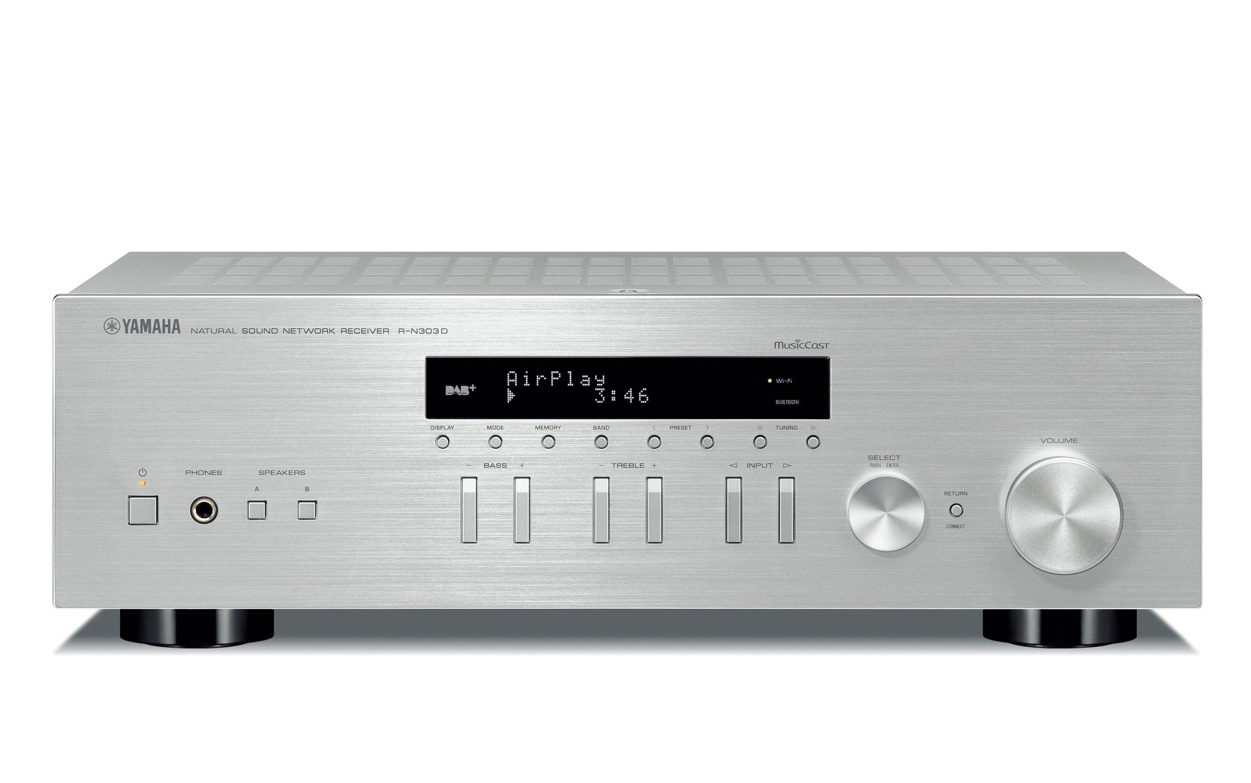 amplificateur-connecte-yamaha-RN303D-SILVER-Vinyles-et-hifi-vintage