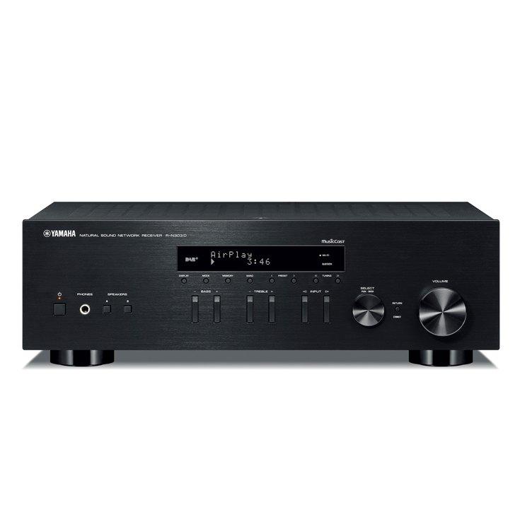 amplificateur-connecte-yamaha-RN303D-noir-Vinyles-et-hifi-vintage-1