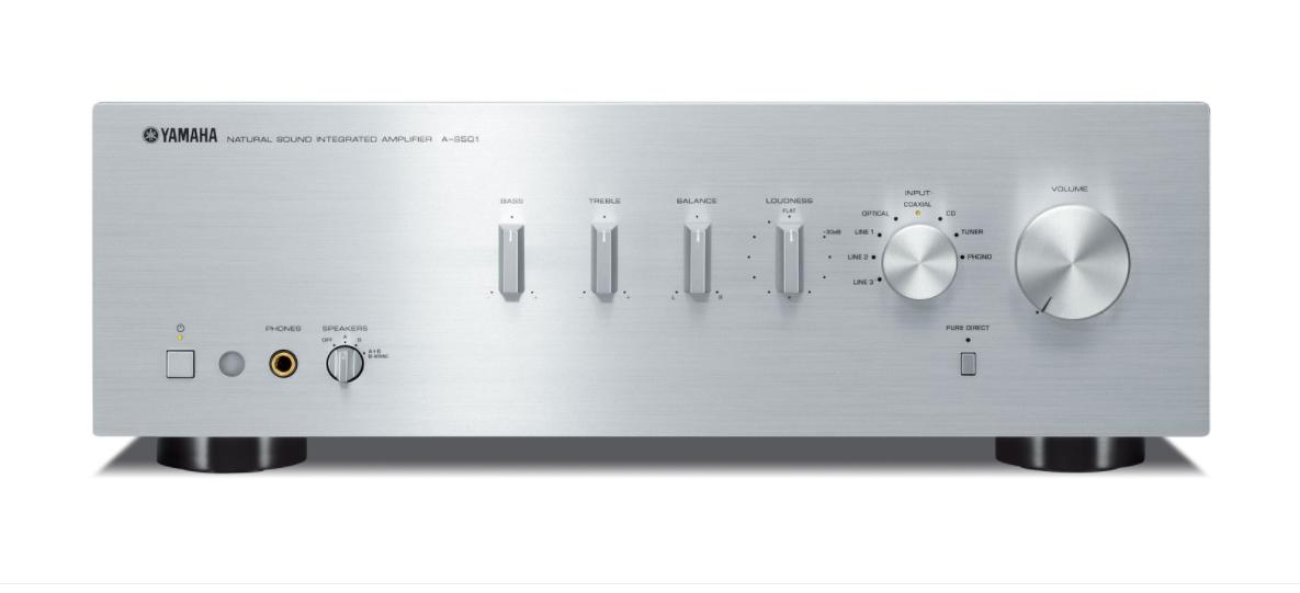 amplificateur yamaha as 501 noir ou silver avec telecommande vinyles et hifi vintage