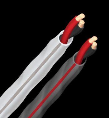 image d'un cable hifi d'enceintes audioquest