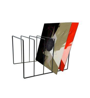 image d'un soppot mural range vinyle
