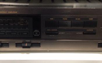 Image d'un amplificateur JVC AX-33 noir