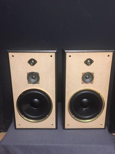 Image d'une paire d'enceintes JVC modele SP-E78 Black
