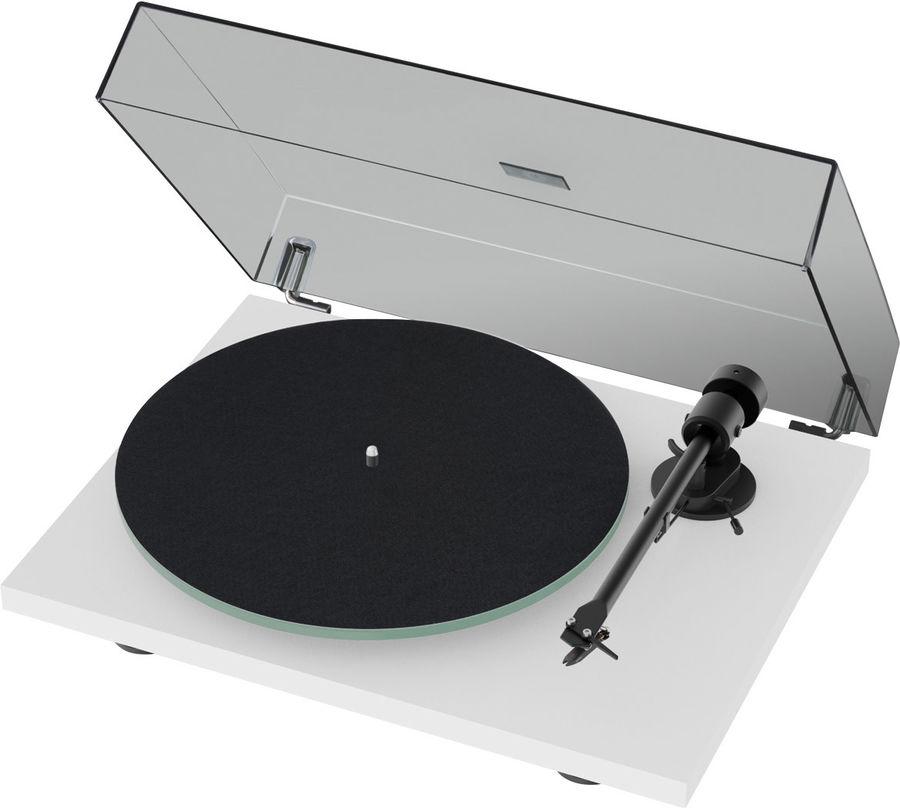 image d'une platine vinyle project t1 om 5e noir ou blanche