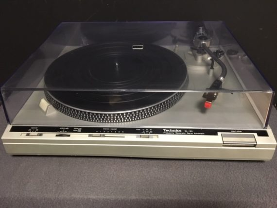 image d'une platine vinyle technics model sl-b3
