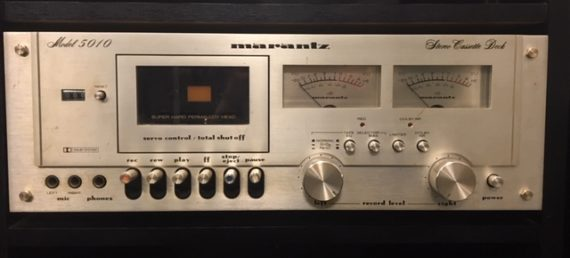 image d'un lecteur cassette marantz model 5010