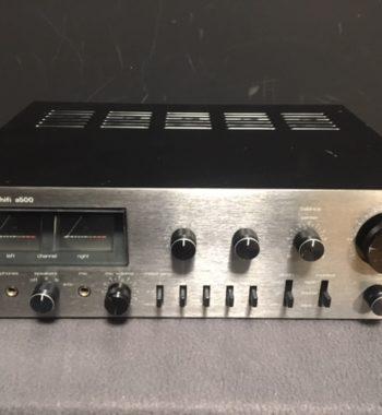 Image d'un amplificateur teleton modele a500