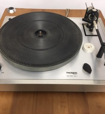 Image d'une platine vinyle thorens modele td 166 mk2