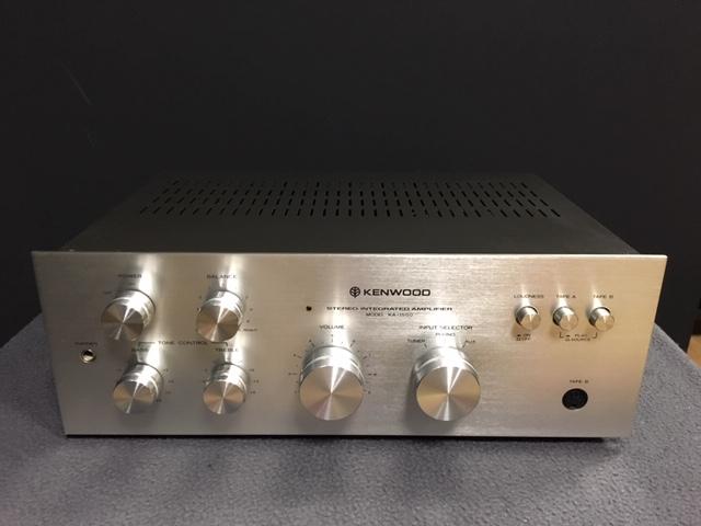 Image d'un amplificateur kenwook ka-1500 révisé et nettoyé