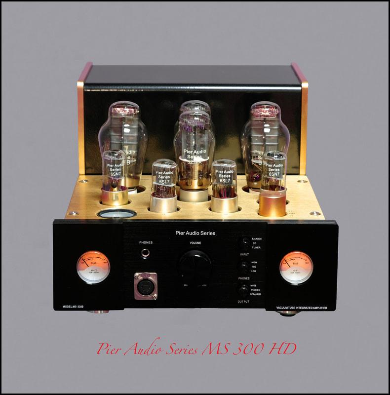 Image d'un amplificateur Pier Audio ms-300 HD