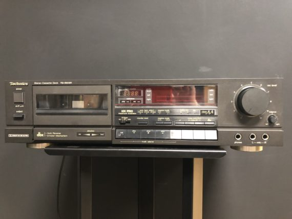 1 / 1 – Technics rsb608r lecteur cassette photo 1