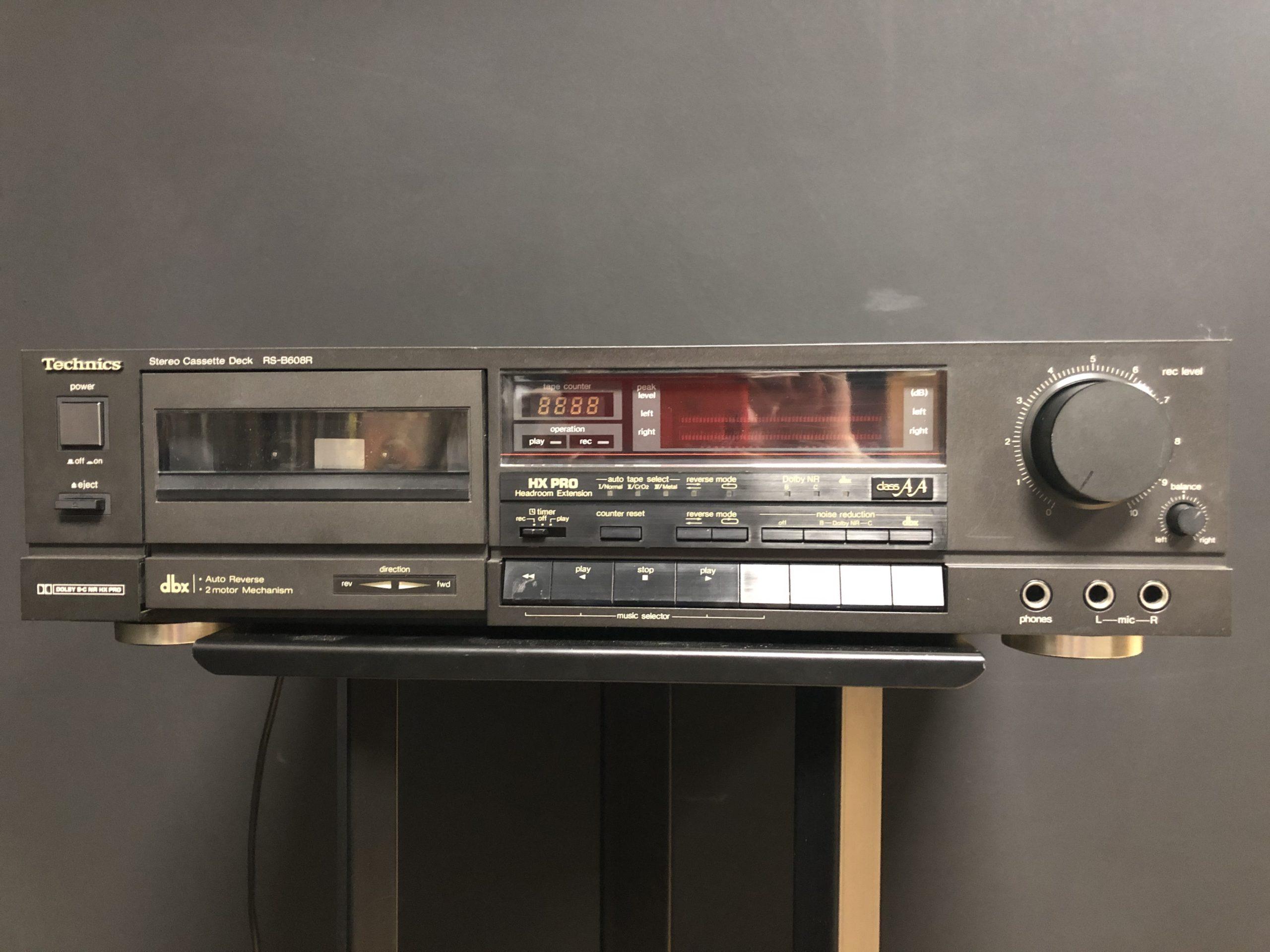 1 / 1 – Technics rsb608r lecteur cassette photo 1