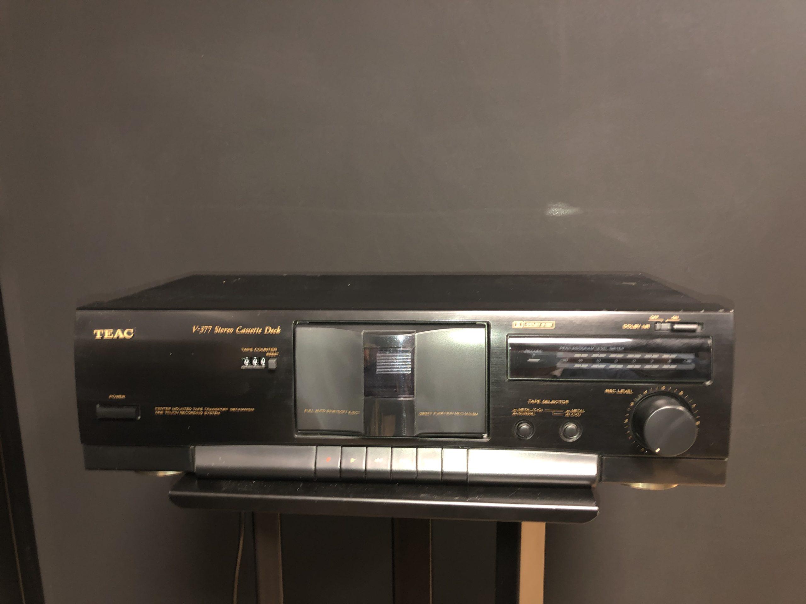 lecteur cassette d'occasion teac v-377 compiègne