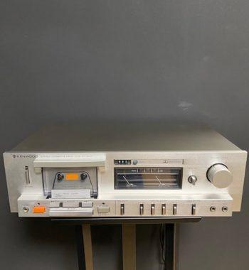 Kenwood kx-600 lecteur cassette vinyles et hifi vintage compiègne