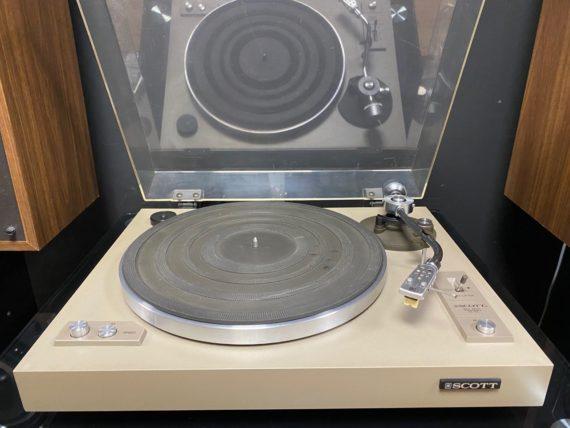 Platine vinyle scott ps 17 d'occasion vinyles et hifi vintage compiègne
