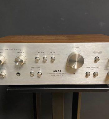 amplificateur d'occasion akai am-2200 vinyles et hifi vintage compiègne