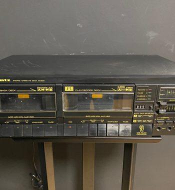lecteur cassette marantz sd 255 noir vinyles et hifi vintage compiègne