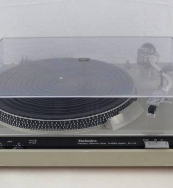 Platine vinyle Technics SL-210 révisée par un professionnel